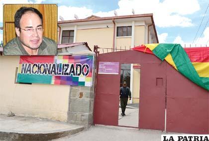 René Ustariz, gerente a.i. de la nacionalizada empresa Elfeosa