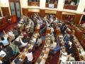 El Parlamento aprobó numerosas leyes al finalizar el año 2012