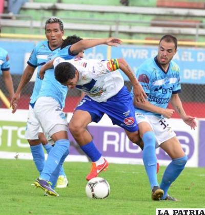 Saucedo aportó con dos goles para el empate de San José