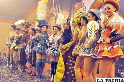 Doce hermosas señoritas disputarán el título de Predilecta del Carnaval 2014