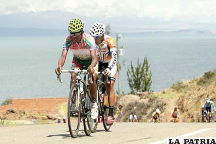 Oscar Soliz, destacado pedalista boliviano