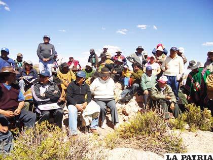 Pobladores de Rodeo exigen reposición de los 175 quintales de quinua