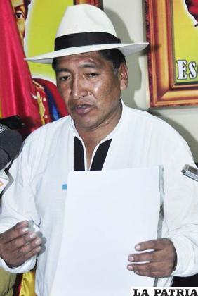 Freddy Huayta, rememoró acciones de periurbanos por recuperar acciones de Iberdrola en Elfeosa