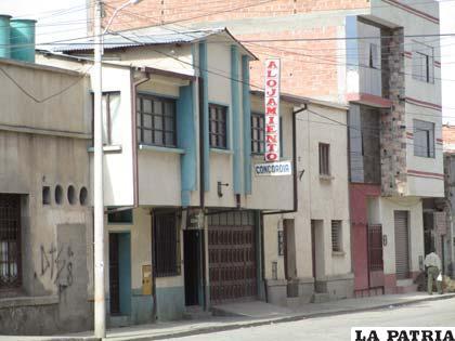 El alojamiento donde la niña fue encontrada la madrugada del 13 de septiembre