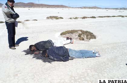 Los cuerpos de los extranjeros fueron encontrados tras su ejecución