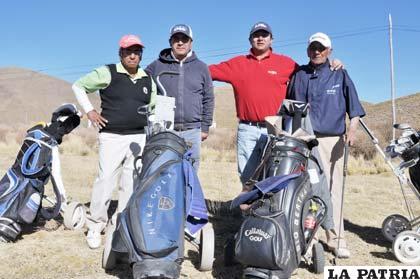 Cultores del deporte de los palos que habitualmente intervienen en los torneos