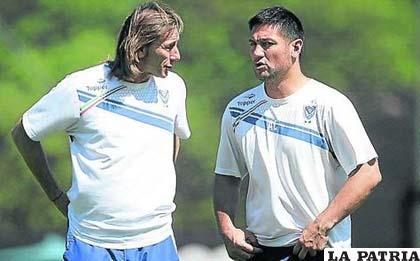 José Flores fue el asistente de Ricardo Gareca
