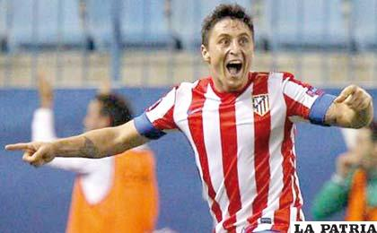 Rodríguez es jugador del Atlético de Madrid