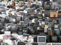 La basura electrónica contamina cada vez más el medio ambiente