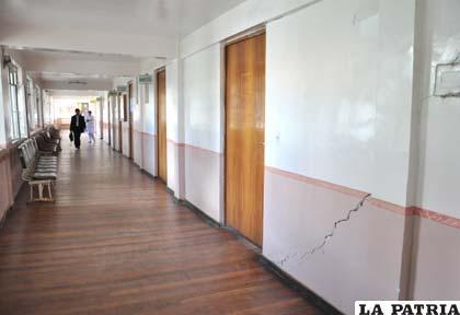 """Ambientes que deben ser demolidos en el Hospital General """"San Juan de Dios"""""""