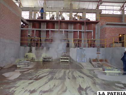 Planta de azufre en Capurata prevé procesar 7 mil toneladas al año