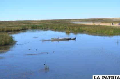 Lago Poopó, centro del problema