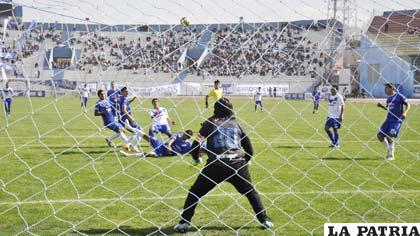 San José venció 2-0 en el partido de ida jugado en Oruro el 19/10/2014
