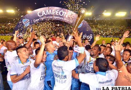 Bolívar, campeón del torneo Apertura de la Liga