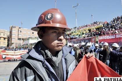 Ayer se recordó el Día del Minero Boliviano