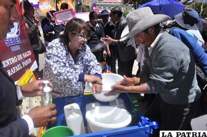 Lavado de manos es primordial para evitar enfermedades diarreicas