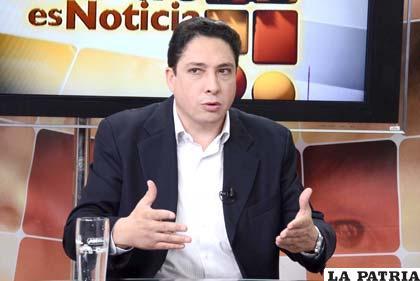 Héctor Arce, procurador general del Estado