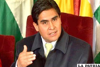 Wilfredo Ovando, vicepresidente del Tribunal Supremo Electoral