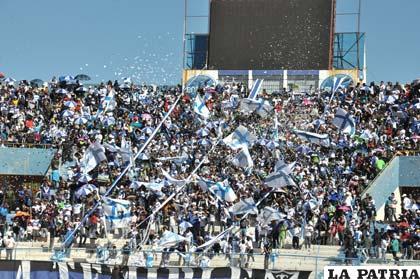 La hinchada de San José ya palpita su presencia en la Copa Libertadores