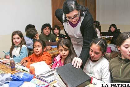 En la actualidad los niños tienen más derecho a la educación