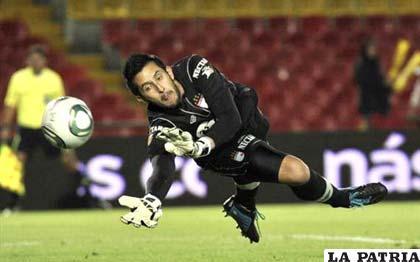 Camilo Vargas, portero del Independiente Santa Fe