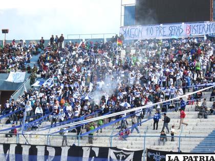 La hinchada de San José se alista para apoyar a su equipo en la Copa Libertadores