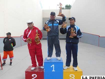Los campeones en la categoría Guardia de Honor