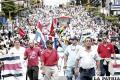 Sindicatos en Costa Rica protestan por reforma laboral