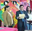 En el acto se entregó la certificación a representantes de los municipios libres de indocumentación