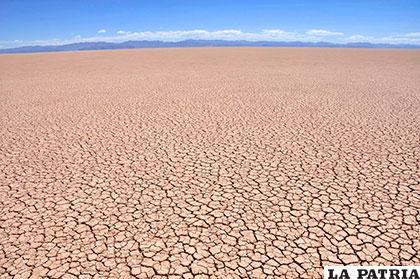 En todo este lugar antes había agua