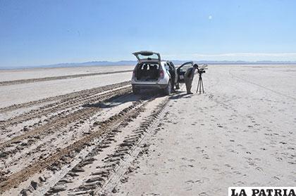 En esta extensión de tierra antes estaban las aguas del lago Poopó