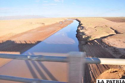 El desvío de las aguas del río Desaguadero y la poca precipitación pluvial, factores para la inminente desaparición del lago Poopó /Foto archivo