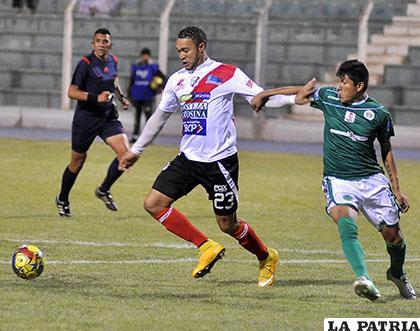 Nacional Potosí venció en la ida 4-0 en la Villa Imperial el 16/10/2015 /APG