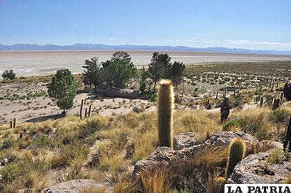 El lago Poopó estaba previsto como un sitio turístico