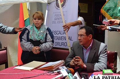 El fiscal General del Estado, Ramiro Guerrero llegó a Oruro por los cambios