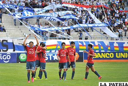 Iriberri anotó el primer gol del partido