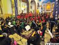El Santuario del Socavón fue escenario del concierto