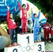 Los hermanos Bustos subieron al podio  en el nacional de ciclismo en Camargo
