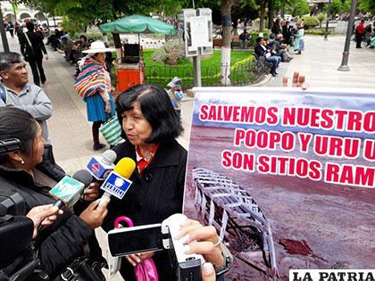 Según ambientalistas, el pedido de trabajar en acciones para preservar el Uru Uru y el Poopó siempre fue constante