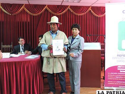El 77,39% de habitantes eligieron el Sí en Chipaya (TEDO)