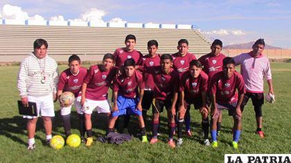 El equipo de San José Sub-19, listo para participar en el nacional