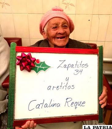 La solicitud de una ancianita para esta Navidad