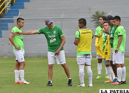 Mauricio Soria dirige los entrenamientos de la selección Sub-20 /APG