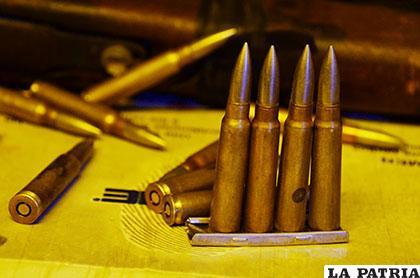 Proyectiles letales utilizados en contra de los uniformados
