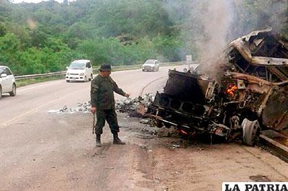 El accidente no dejó heridos pero sí daños materiales