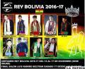 Los candidatos que se disputarán la corona de Rey Bolivia /ROGER AVILÉS