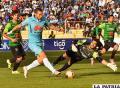 En la ida Bolívar venció 2-1 en La Paz el 23/10/2016 /APG