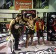 Kevin Terceros, campeón nacional de  todo vale, pretende entrenar en Brasil