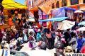 Las actividades de fin de año hacen que particularmente el centro de la ciudad sea intransitable