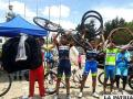 Las bicicletas y accesorios que recibieron los pedalistas orureños